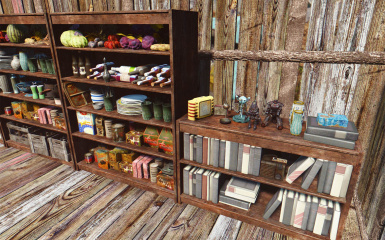 Do It Yourshelf - clutter for shelves and bookcases