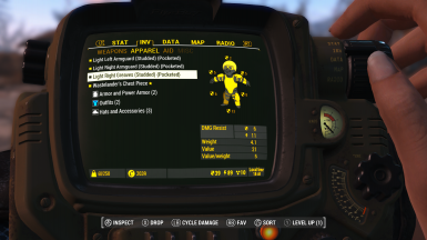 1.0.4 Gold Kit Patch Showing the Cycle Damage Button