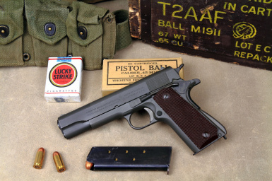 WWII Colt M1911A1 of Freedom at Fallout 4 Nexus - Mods and community