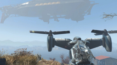 Airship - Player Home and Settlement at Fallout 4 Nexus ... on