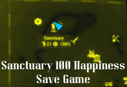 Sanctuary 100 Happiness (Easy Benevolent Leader)