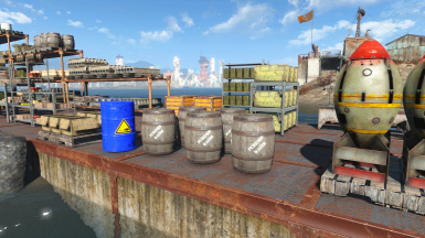 Single barrels for acid and water
