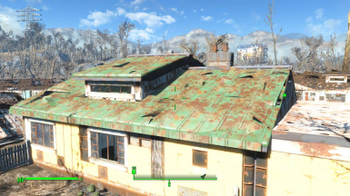 Sanctuary Workshop House Roof Repair And Walls At Fallout