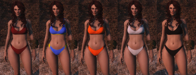 Sporty Underwear - Color Variations