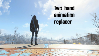 Two hand animation replacer