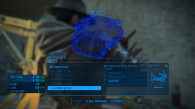 Weave Armor Mods Revised