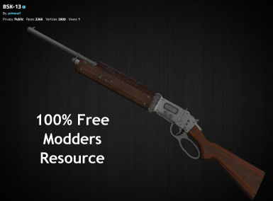 BSK-13 Repeating Rifle (3d resource)
