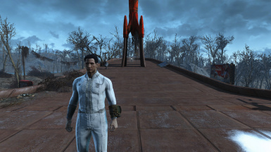 White Vault Suit CBBE compatible