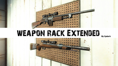 Weapon Rack Extended