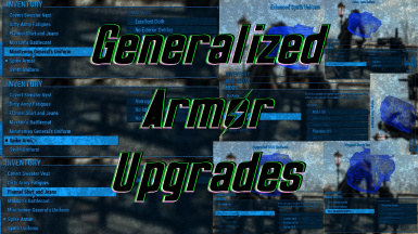 Generalized Armor Upgrades