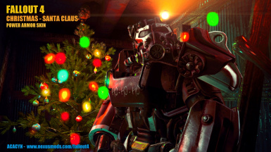 Christmas   Santa Claus    Power Armor Skin