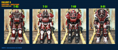 Christmas   Power Armor Skin Variants 2