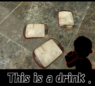 Drinking Blood Pack