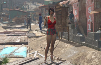 Fallout At Mods Community Highheels Dress And 4 Outfits Nexus nP80wOk