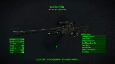 Reservists Rifle