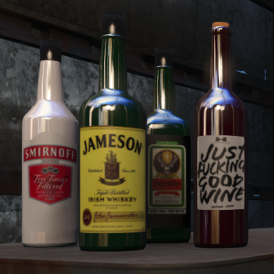 Immersive Liquor Bottles