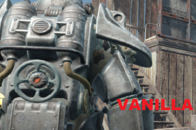 Power Armor Shoulder Clipping Bug FIx