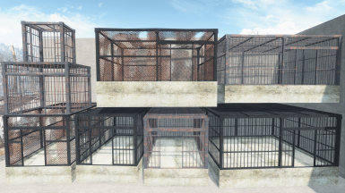 Jail Cells and Cages