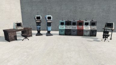 Terminals (both regular and Vault-Tec Management)