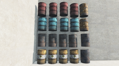 Barrel Decorations