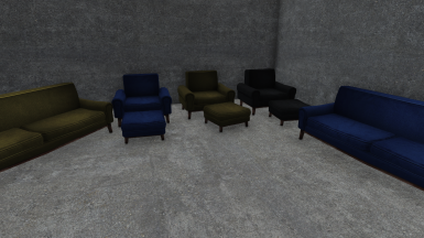 Selection of Colors for Chairs, Couches, and Ottomans