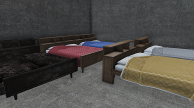 Selection of Double Beds