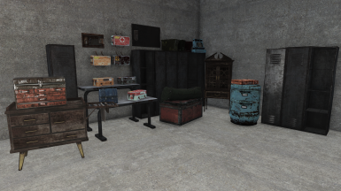 Selection of Containers (some retextured by other mods)