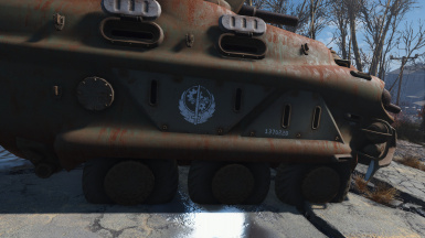 Optional BOS decal