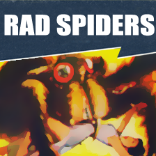 Rad Spiders - Giant Spiders of the Commonwealth