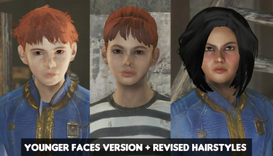 Younger faces and revised hairstyles