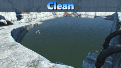 how to make water clear in fallout 4