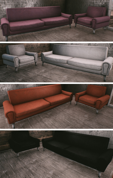 Couches and Armchairs