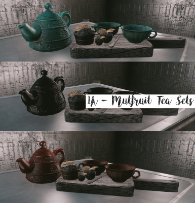 1A - Static Dec - Mutfruit Tea Sets
