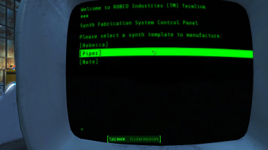 Terminal Interface
