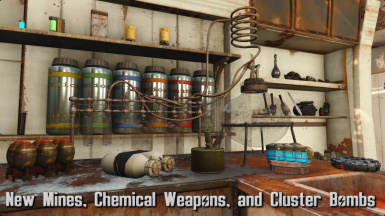 Grenades  Mines  and Chemicals  Oh My