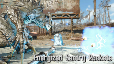 Energized Sentry Rockets