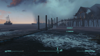 Longfellow's cabin bridge to Far Harbor