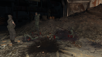 With Live Dismemberment Mod