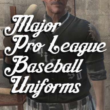 Major Pro League Baseball Uniforms