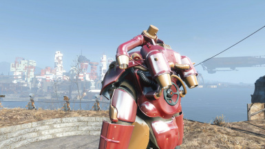 Iron Man Power Armor - X-01 and Jetpack at Fallout 4 Nexus