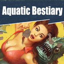 Aquatic Bestiary - Sea life to the Commonwealth