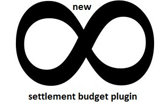 new infinite settlement budget plugin
