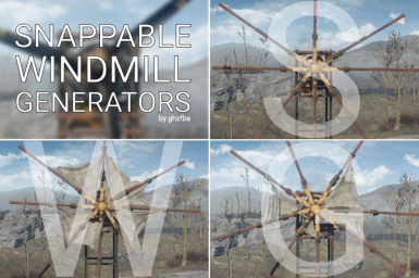 SWG - Snappable Windmill Generators (Wind Farms)