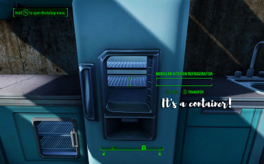 Fridges are containers