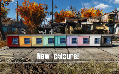 8 new colours