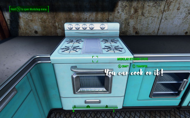 You can cook on it