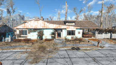 Repaired Player Home