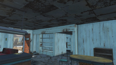 Repaired Ceiling and Player Home