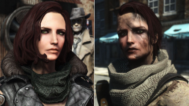 Fallout 4 Samantha Mod Comparison