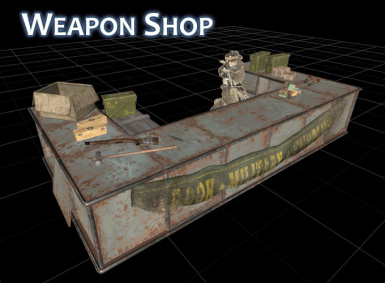 Horizon WeaponShopModel01